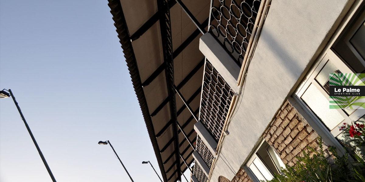 Le Palme Sporting Club Roma - la veranda