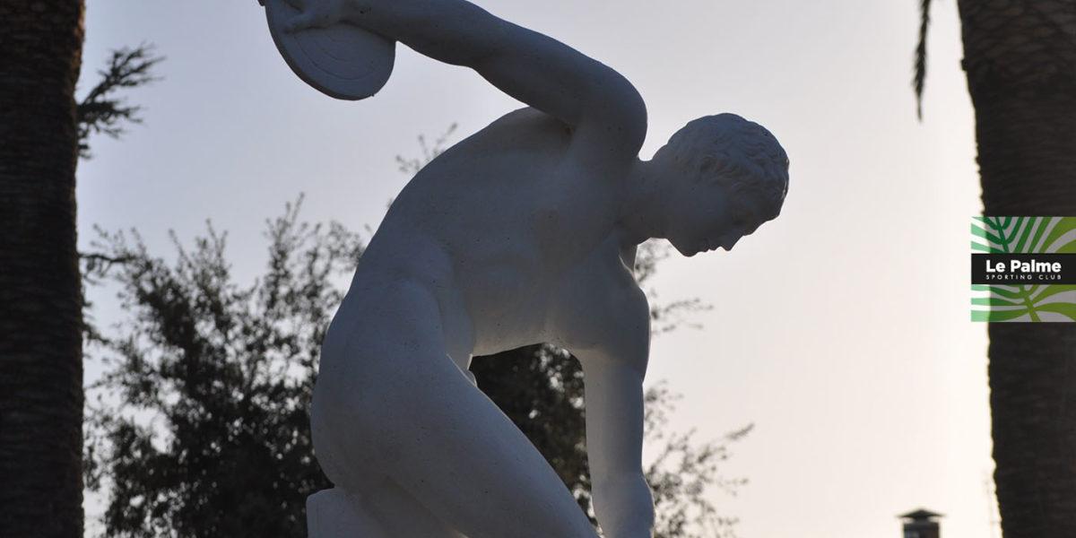 Le Palme Sporting Club Roma - statua del discobolo