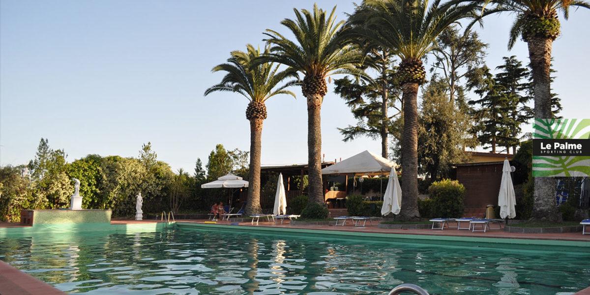 Le Palme Sporting Club Roma - piscina all'aperto