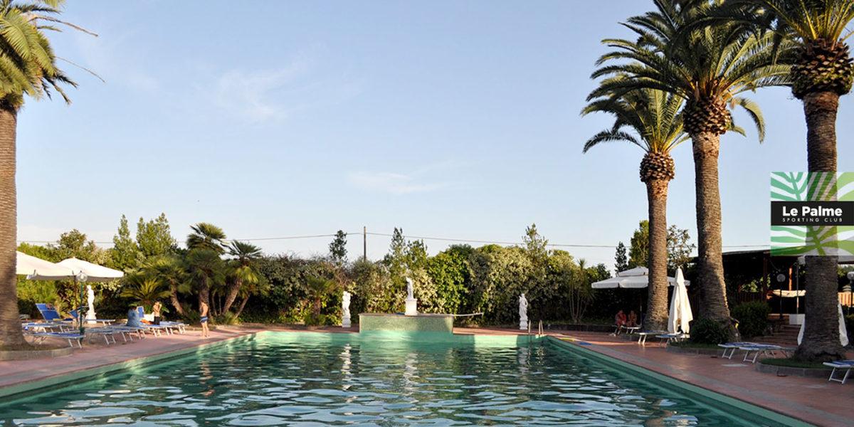 Le Palme Sporting Club Roma - piscina esterna