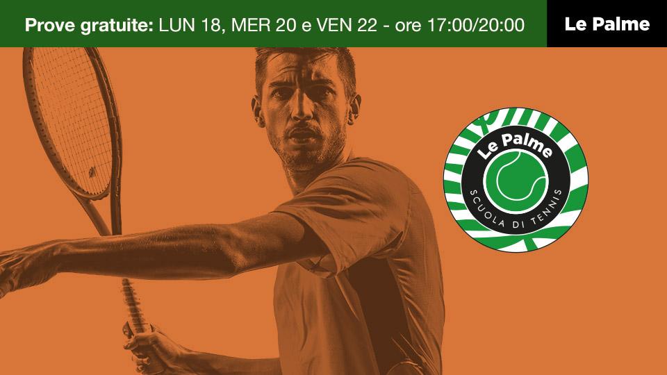 Le Palme Sporting Club Roma - prove gratuite tennis
