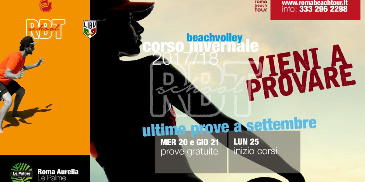 Le Palme Sporting Club Roma - corso invernale beach volley