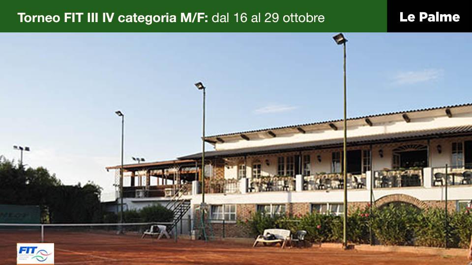 Le Palme Sporting Club Roma - BLOG torneo FIT tennis