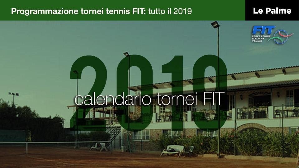 Fit Calendario Tornei.Calendario Fit 2019